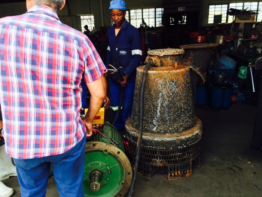 Repair & installation of submersible pumps
