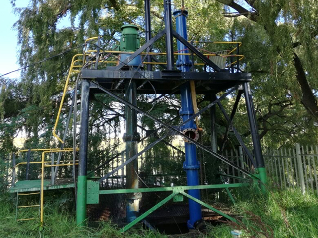 Refurbishment & installation of verticle pumps